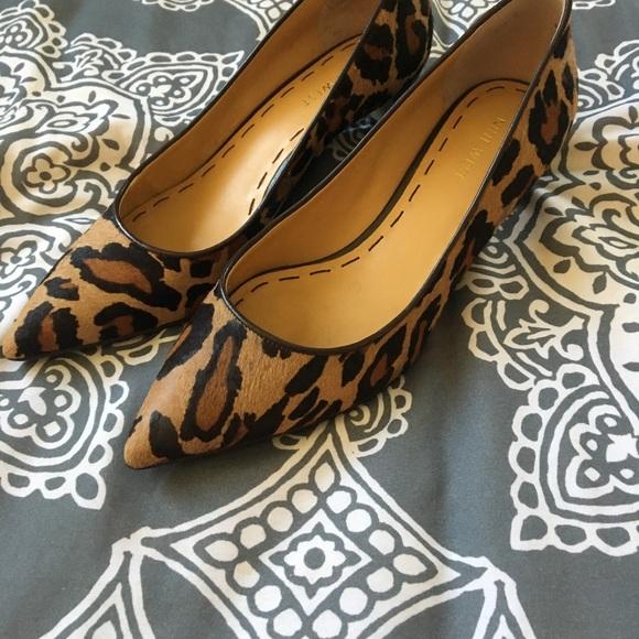a033ba53569d Nine West leopard kitten heels. M_5aca8738d39ca2e8e19e4c1f